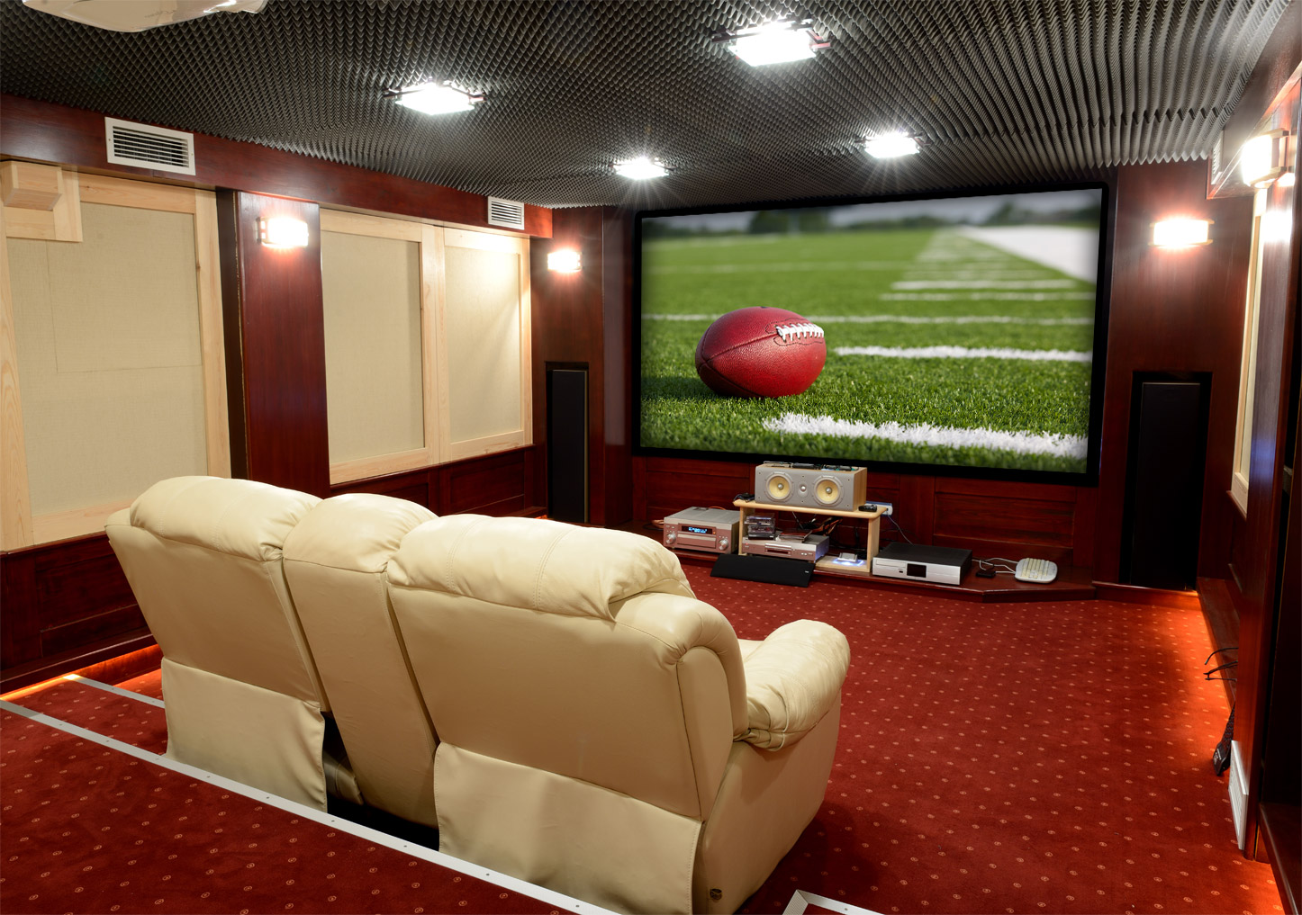 Home Theater Room Installation