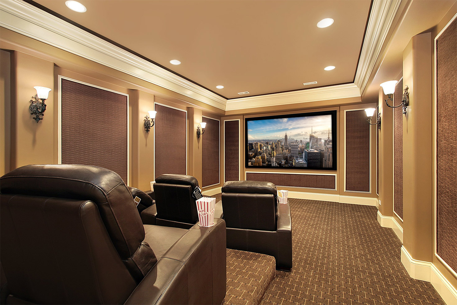Theatre Room Design home theater installation houston | home cinema installers