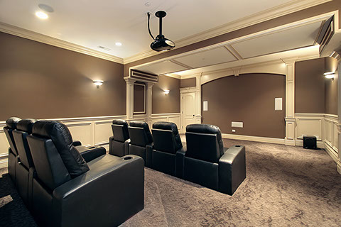 Projector Installation Home Theater
