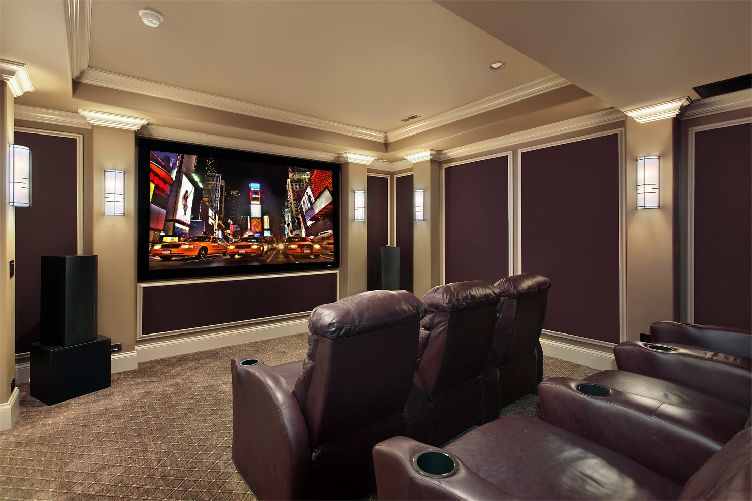 how to set up home theater