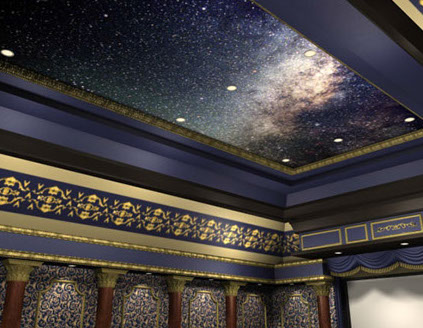 Starlight ceilings home theater starlight ceilings aloadofball Image collections
